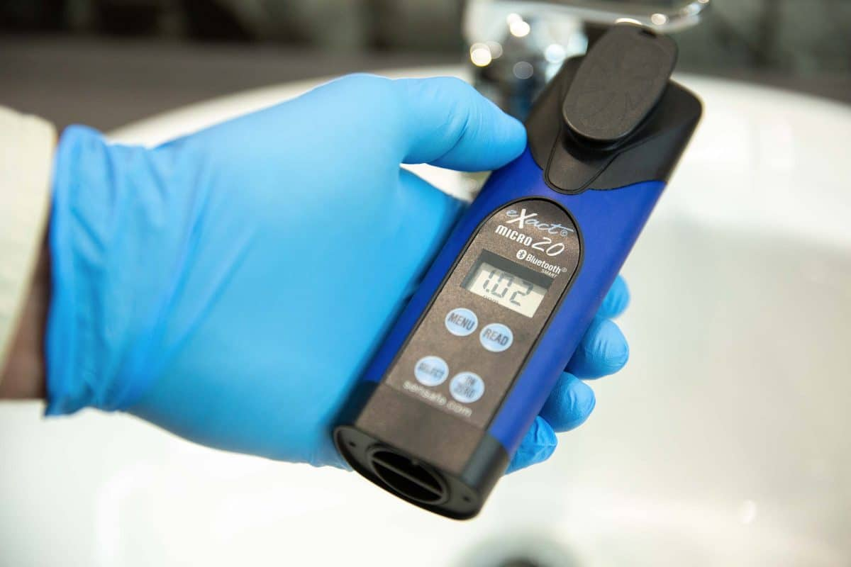 Photometer Water Testing